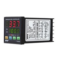 Freeshipping LED PID Thermometer Digital Temperaturregler Thermo Thermostat Heizung Kühlung Steuerung SSR 2 Alarmrelais TC / RTD