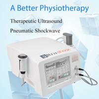 Date machine de thérapie par ondes de choc ultrasonore de physiothérapie matériel de clinique choc portable ED onde de douleur au genou maux de dos relife