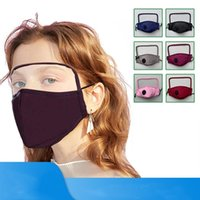 2 in 1 Face Mask Eye Shield Mask Anti Dust Face Masks Full Face Protection Anti Fog Oil Protective Mask without Filter Pad CCA12304 200pcs
