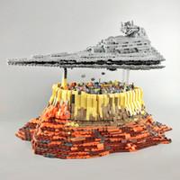 금형 킹 21007 5098PCS 빌딩 블록 제다 도시 모델 벽돌을 통해 제국 제국 크리스마스 선물