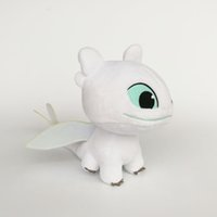 New Light Fury Plush Toy How to Train Your Dragon 3 Soft Toy...
