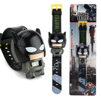 New electronic cartoon children's Watch Telescopic deformation Cat Car Spiderman Child Watches For Student Boys Girl Kids Wristwatch