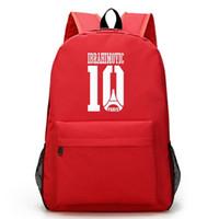 ابراهيموفيتش قماش ظهره بنين بنات القدم الكرة rucksack حقيبة مدرسية سعة كبيرة للمراهقين محمول حقيبة mochila اجتماعيون