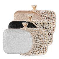 Sac de soirée chaude Sac d'embrayage Magnifique Perle Cristal Cristal Perles Bridal Bridal Party Sacs Handbags Sacs à main
