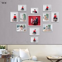 12 Pcs Classic Photo Frame For Wall Hanging Picture Frame Ph...