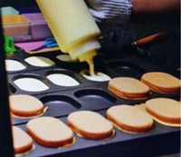 Koreanisches Eierbrot Gyeran-Bbang Waffelmaschinen 110V 220V Elektrische Typ Korea Egg Cake Waffelmacher Backen Eisenpfanne Llfa