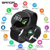2019 Smart Watches SANDA Silicone & Mesh Smart Watch IP67 Wa...