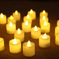 24pcs lot Flickering Flameless Candles with Timer Christmas ...