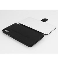 Sıcak Satış 2D Süblimasyon Boş Deri Telefon Kılıfı Için iPhone 8 XR XS MAX Kişiselleştirilmiş Sizin Tasarım PU Isı Transferi Geri Telefon Kapak