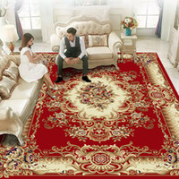 Luxury European and American Style Free- Hand Carpet in Recta...