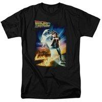 T-shirt da uomo Torna ai futuri dimensioni del poster T-shirt S-3X