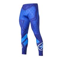 Correndo calças justas homens moda casual calças Academia Esporte Leggings Homens Ginásio Jogging Calças Sportswear Compressão Calças