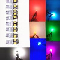 100PCS LED 자동차 12V Lampada 라이트 T10 5050 슈퍼 라이트 194 T10 주도 주차 전구 자동차 쐐기 정리 램프 W5W 168