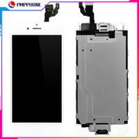 전체 세트 화면 아이폰 6 그램 6 초 6 플러스 6 초 플러스 LCD 화면 디스플레이 디지타이저 어셈블리 전면 카메라 + 스피커 + 홈 버튼 무료 배송