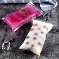 Plastic Bags picolé Moldes Ice Pop Bags Mold Pouch com Zip Seals descartáveis auto vedação congelado Bar YYA36
