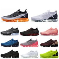 Nike air Vapormax 2.0 Zapatillas de deporte de moda Triple White Black para mujer Hombre Mango CNY NRG Team Red Mens Trainer Sports Sneakers shoes Venta caliente