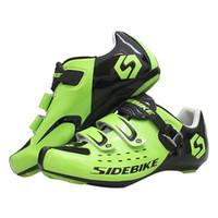 أحذية Sidebike الدراجات سباق الطريق للدراجات جبلية أحذية الرياضة تنفس الذاتي قفل الدراجة Sapatilha Zapatillas
