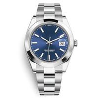 TOP V3 наручные часы Sapphire стекла часы сплошные из нержавеющей стали зажездание светящиеся автоматические мужские наручные часы Дата просто складная пряжка новая