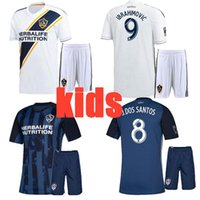 2019 La galaxy kids home away Suit soccer jersey Maillots de...