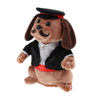 Children Plush Toy Dog Singing Funny Animal Doll for Kids Bi...