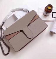 Newset Flap Kette Schulter Disco Bag 28 cm 20 cm 18 cm handtaschen echtes leder crossbody taschen frauen kleine mini abend preuse
