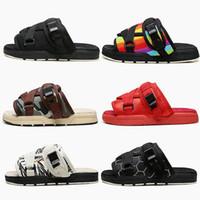 2020 New Visvim Chaussons Hommes Femmes Lovers Chaussures Mode Chaussons sandales de plage Rue Hip-hop meilleur Chaussons d'extérieur