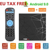 T95 max Android 9.0 TV-Box 2 GB 16 GB 4 GB 32 GB TV-Box Allwinner H6 Quad Core Smart TV VS Q plus