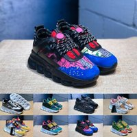 2019 Chain Reaction Casual Designer Sneakers Sport Fashion C...
