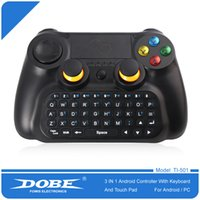 Top-Qualität DOBE TI - 501 3 in 1 Wireless Multifunktions-Controller-Tastatur Tastatur-Maus-Touchpad für Android Smart TV / Pad / PC