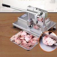 Couper le porc côtelette os trotteurs machine trancheuse à viande en acier inoxydable levier structure de la voie principe Scier Bone Machine