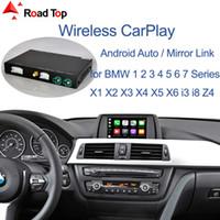 Kablosuz Carplay BMW Araba CIC Sistemi Için 1 2 3 4 5 7 Serisi X1 X3 X4 X5 X6 F10 F11 F07 GT F01 F02 E84 F25 F26 E70 E71
