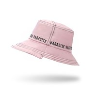 Panama Bucket Hat Men Women Spring Summer Sun Beach Cotton L...