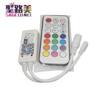 Le contrôleur RF mini de RVB RGBW RGBCW RGBWW Wifi LED à distance pour le ruban flexible de bande allume le contrôle sans fil de téléphone intelligent IOS / androïde