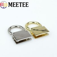 meetee Square Metal Claps Buckle Hook For Bag Strap Handbag ...