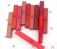 10 colores 3ce Matte Lipstick Hot Largo Duradero Impermeable 3ce Velvet Labe Tint Maquillaje Matte Nude Lipsticks Lip Gloss con Marca