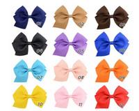 4 pouces Mode bowknot JOJO Bows pour les filles Barrettes Épingle fleurs imprimé léopard design arc-filles Barrettes bowknot Accessoires cheveux