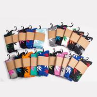 33 개 색상 크리스마스 Plantlife 양말 남성 여성 높은 품질면 양말 스케이트 보드 힙합 메이플 리프 스포츠 양말 도매 무료 DHL 페덱스