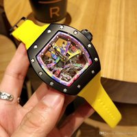 Hot New top brand Luxury mens watch RM 68- 01 KONGO Graffiti ...