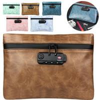 2019 femmes portable sac cosmétique multifonction Zipper Sac de toilette des femmes de haute qualité unisexe Tote Mot de passe Voyage verrouillage Pouch