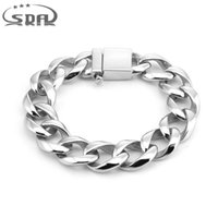 Classic Jewelry Men Bracelet Cuban links & chains Stainless ...