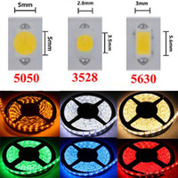 LED Strip Light 12V SMD3528 5050 5630 300led Strips waterproof Ribbon For Flexible strip Home Bar Decor Lampada Led 5M/roll RGB