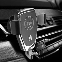 Car Holder For Phone C6 Car Qi Wireless Charger 10W Fast Cha...