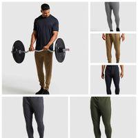 Lu-3 Yoga-Fitness-Studio Kleidung für Herren-Qualitäts-Fitness Sport Jogging Hose Reißverschluss-Tasche Fitness Pants Loose Fit bequeme Laufhose