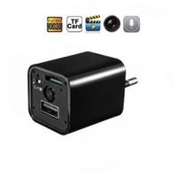 HD 1080P usb مصغرة كاميرا S2 الولايات المتحدة / الاتحاد الأوروبي التوصيل شاحن لاسلكي واي فاي كام ac محول المقبس أمن الوطن كاميرا الفيديو
