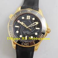 Edición limitada de Oro de James Bond 007 gomas nuevo modelo suizo CAL.8807 Hombre Movimiento 210.62.42.20.01.001 VS fábrica de relojes automático