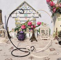 Hängende Anzeige Rack Luftanlage Terrarium Eisen Pflanzer Metall Kerzenhalter Hexe Ball Hochzeit Ornament Wohnkultur Cyl-yw4080