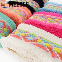 Meetee 4. 5cm Tassel Lace Trim Webbing Ribbon Home Textile Ba...