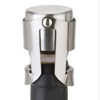 Нержавеющая сталь Портативный Винная пробка вакуумплотный вина Бутылка шампанского Пробка Cap Barware Бар Инструменты CFYZ312Q