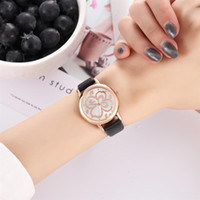Reloj Mujer Women' S Leather Band Watches Classic Stainl...