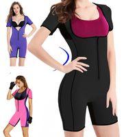 151a507b2e Women Slimming Neoprene Bodysuits Sauna Sweating Make Hot Shapers Corset  Waist Trainers Abdomen Fat Reducer Slimming Underwear Bodysuit